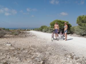 På sykkel i Spania