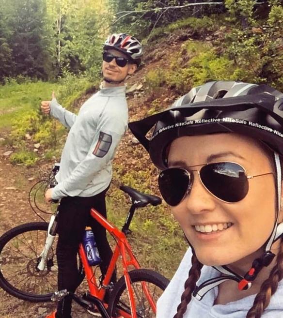 Andrea og Bjørnar løper 10 km I Stavanger og halvmaraton I Oslo, hennes første!