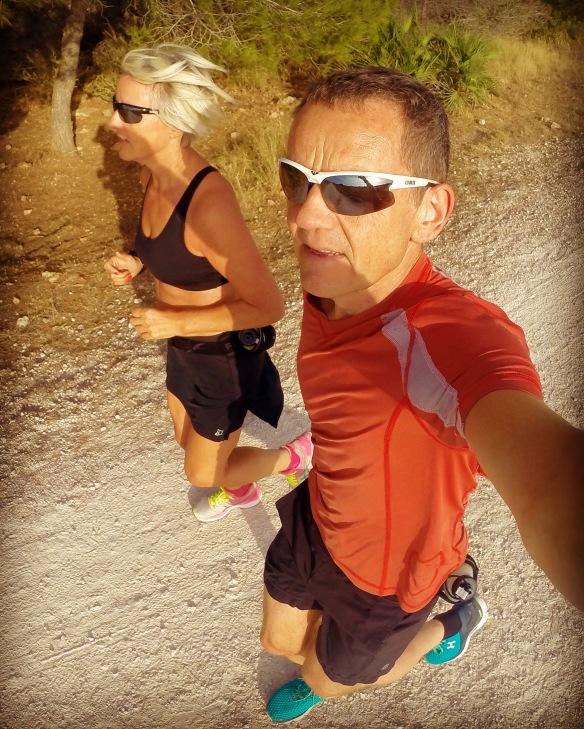 3 uker i Spania i sommer og mange km i beina er en god oppladning til høstens løp!